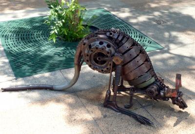 Kangaroo Street Sculpture, Brisbane