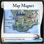 Australia Map Magnets