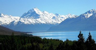 Mt Cook & Lake Pukaki New Zealand