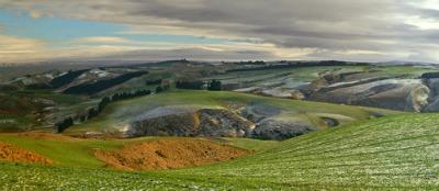 near Lee Stream inland from Dunedin