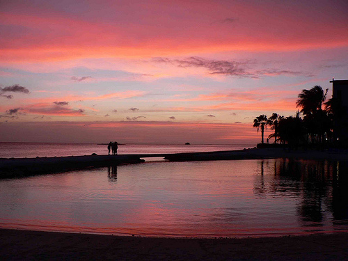 Aruba, in the ABC Islands off Venezuela