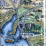 Adelaide Map Magnet Australia