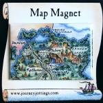 Top End Australia Map Magnet