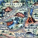 The Kimberleys Australia Map Magnet
