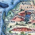 Ningaloo Reef Map Magnet Australia