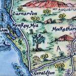 Monkey Mia, Western Australia Map Magnet