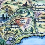 Kalgoorlie Goldfields Map Australia Magnet