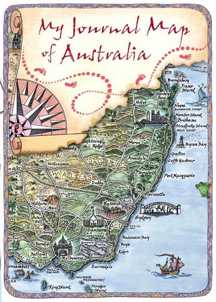 australia travel journal range journey jottings