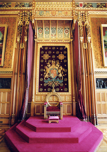 Robing Room, Houses of Parliament London