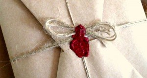 Gift Wrapped with sealing wax