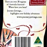 Potrait Backing card for Map Magnets Australia