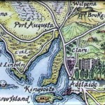 Eyre Peninsula Map Magnet Australia