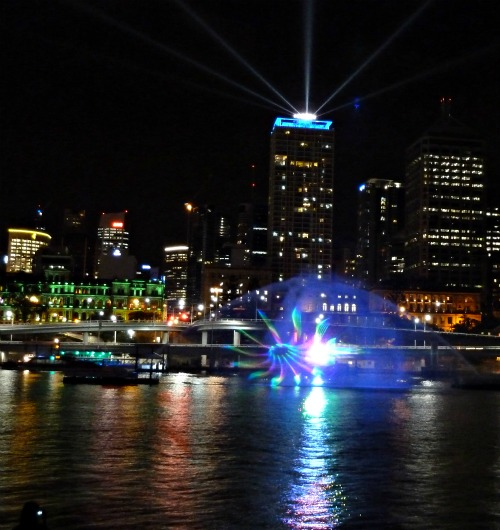 Brisbane Laser Light Show September 2011