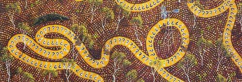 Aboriginal map Australia