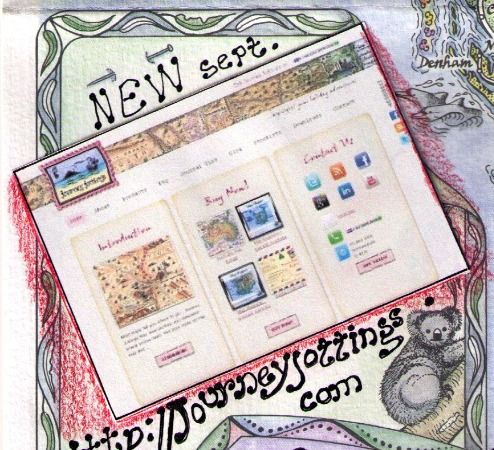 New website for Journey Jottings in September 2011