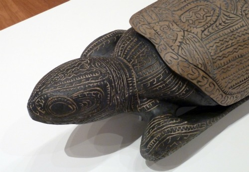 Turtle artwork by Dennis Nona