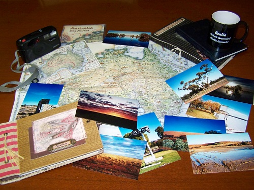 Journey Jottings Travel Journal mementos from my aussie odyssey