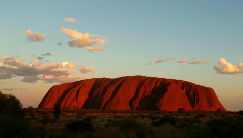 Uluru Ayers Rock Sunset