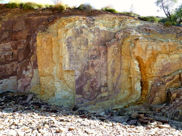 Ochre Pit colour