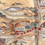 Standley Chasm pictorial map
