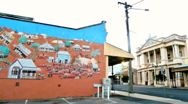 Charters Towers Mural