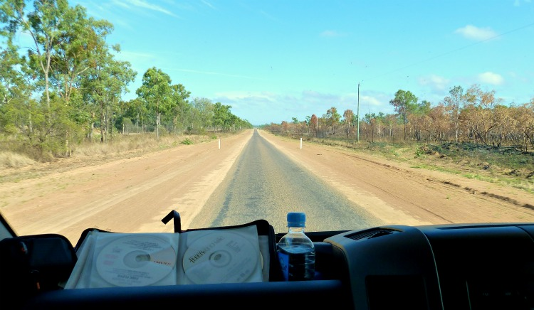 Image: Open road Australia