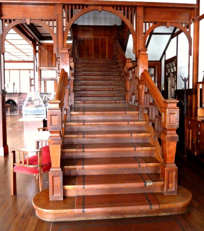 Malanda Hotel Stairs
