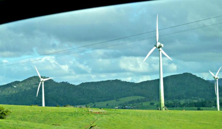 Wind turbines ravenshoe