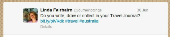 @journeyjottings tweet on twitter