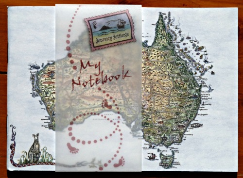 Australia Notebook cover