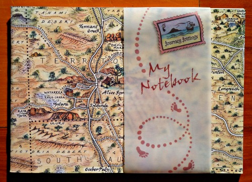 The Red Centre Notebook