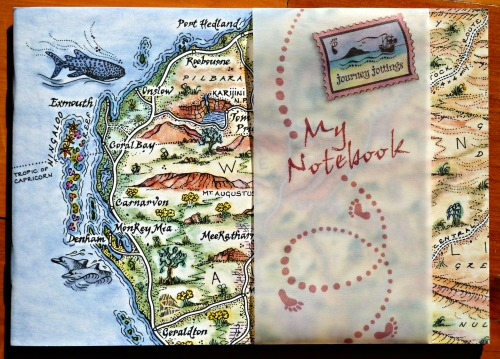 Ningaloo and the Pilbarra pictorial map