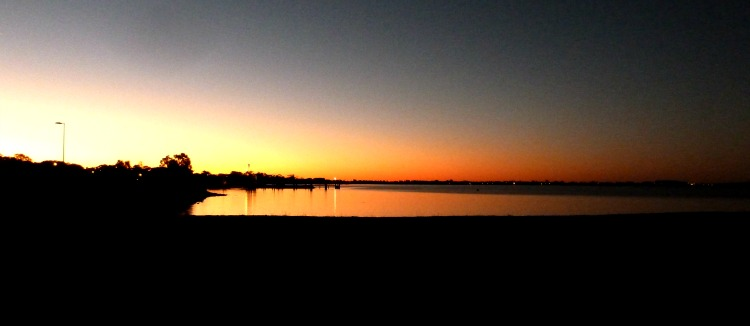 Sunset South Moreton Bay