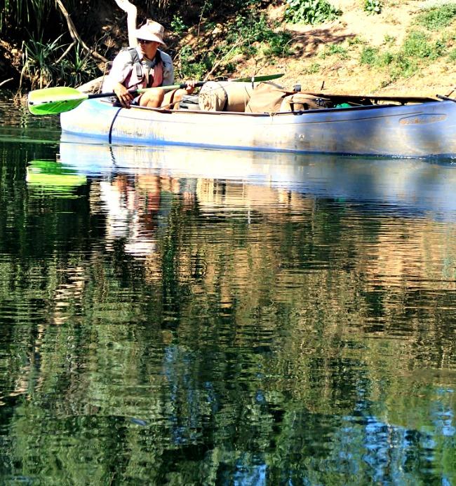 Canoe Katherine River