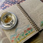Take a Peek Inside Mary's Watercolour Travel Journal
