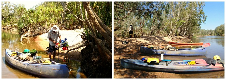 Picnic Lunch Time on the Katherine River
