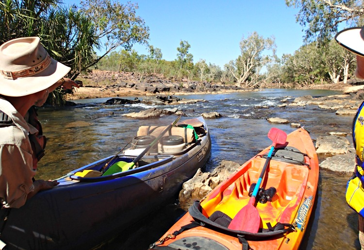 Rapids on the Katherine River