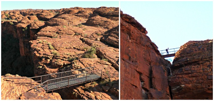 Cotterills Bridge Kings Canyon Rim Walk