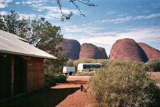 View from the public toilets at Kata Tjuta