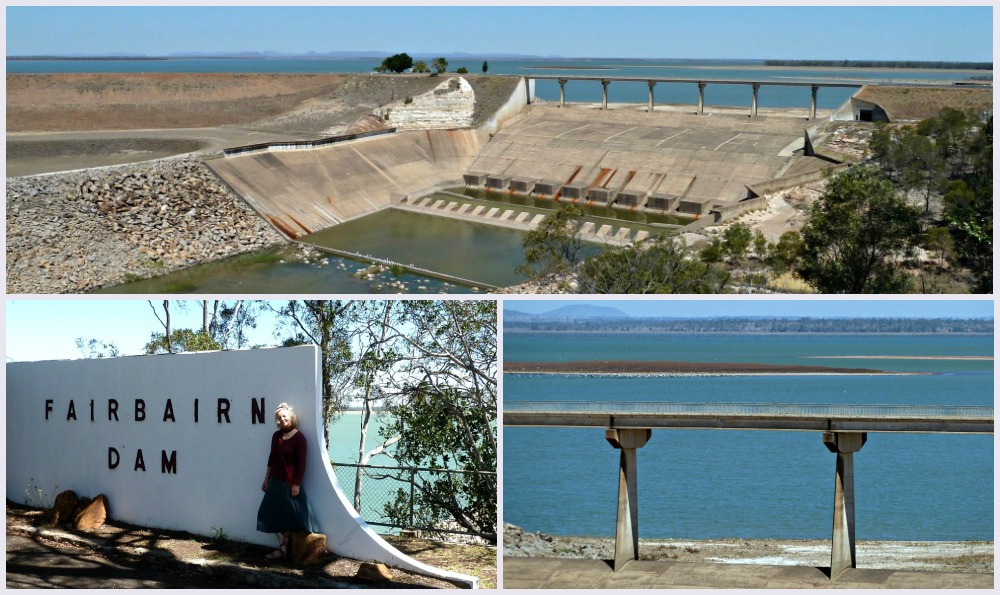 Fairbairn Dam near Emerald Queensland