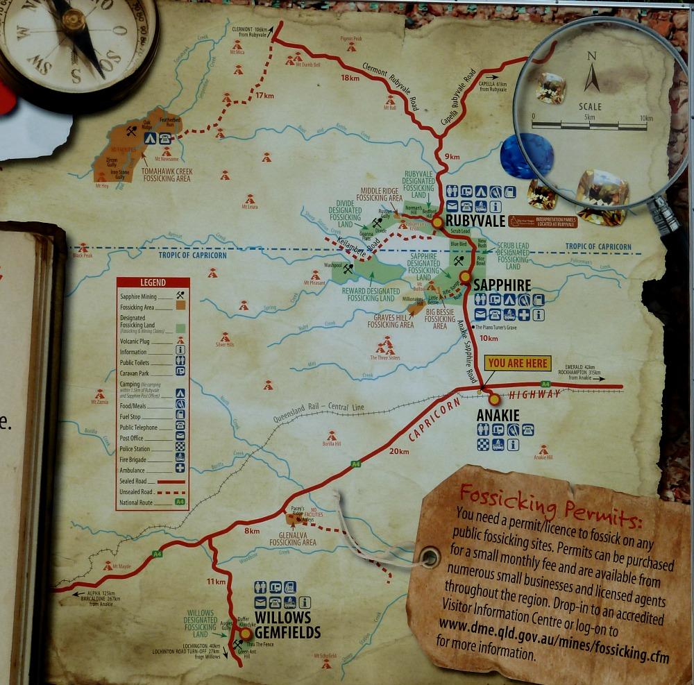 Map of Gemfields