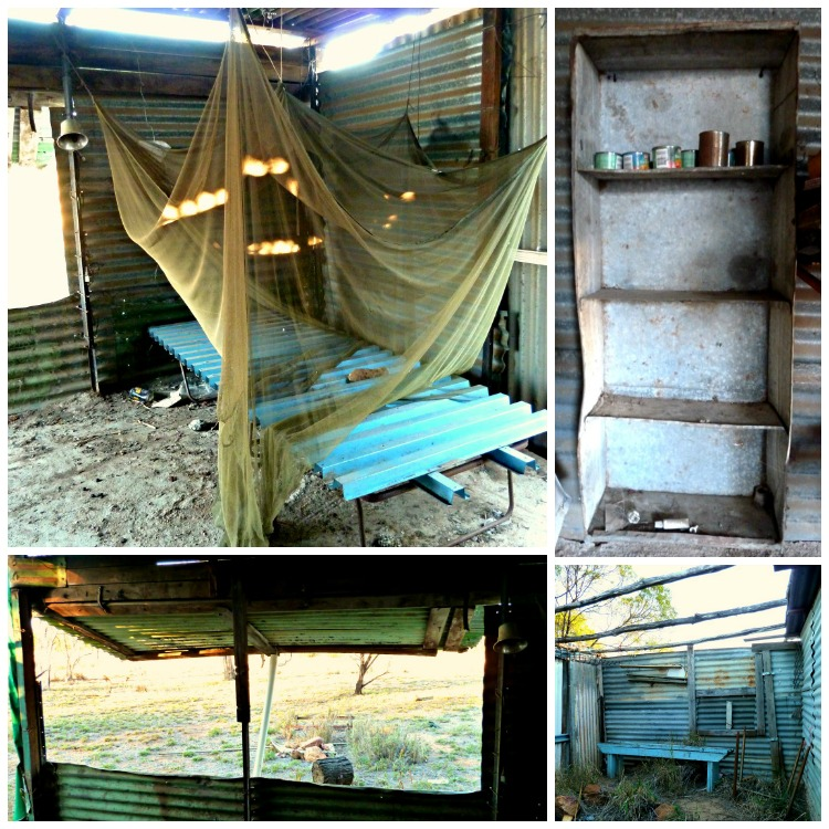 Miners shack in the gemfields, queensland