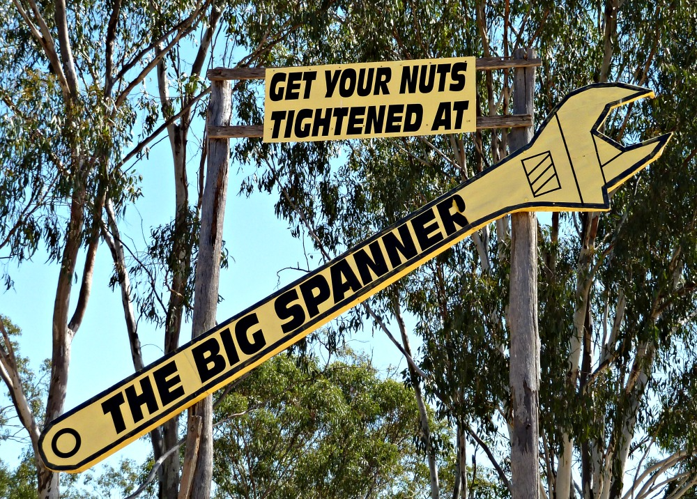 Get your nuts tightened at... The Big Spanner
