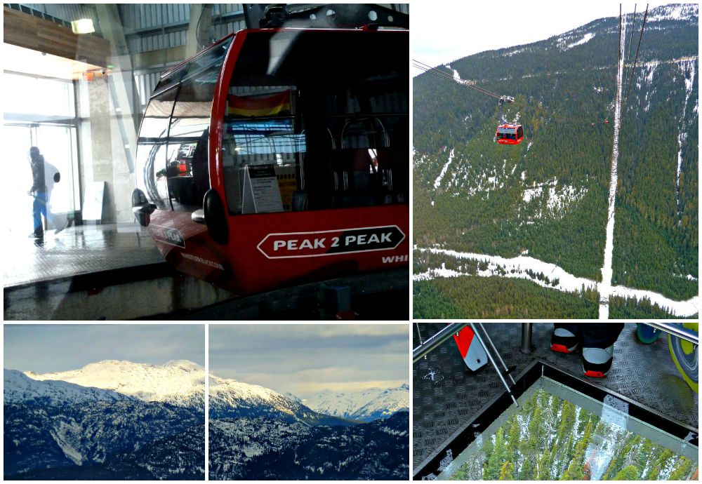 Peak to Peak gondola ride